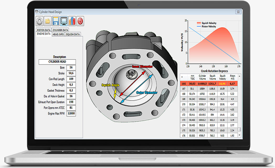 Racingsm Software 2 Stroke Development
